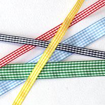 Gingham ribbons