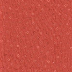 Jersey Ajour - Orangerot