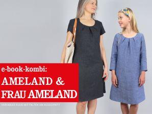 Studio Schnittreif - eBook Kombi - Kleid Ameland & Frau Ameland