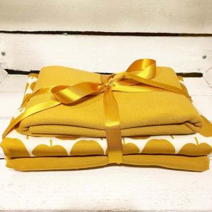 Appel Jersey Set - Mustard