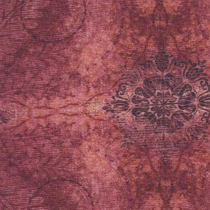 Deko Aquarell Ornaments - Rot