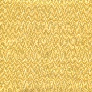 Jersey Autumn Herringbone - Gelb