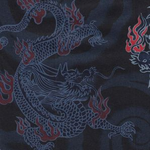 Big Dragon - Schwarz