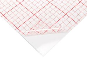 Lampenschirmfolie 0,3mm - weiß