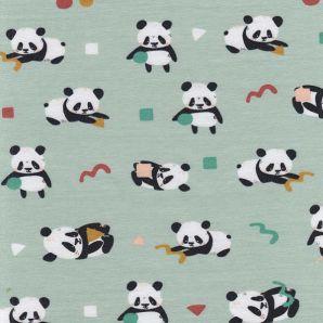Bio Jersey playful Panda - Hellmint