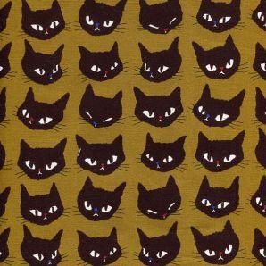 Cat Head - Ocker