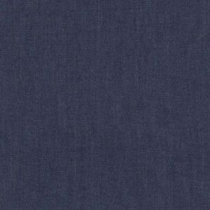 Chambray Uni - Dark Blue