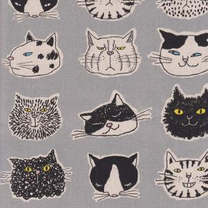 Character Cat - Grau