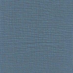 Double Musselin Lurex - Dusty Blue