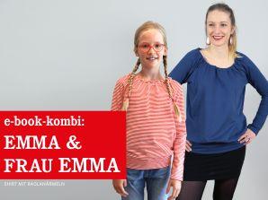 Studio Schnittreif - eBook Kombi - Shirt Emma & Frau Emma