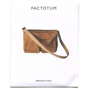 Merchant & Mills - Schnitt Umhängetasche Factotum