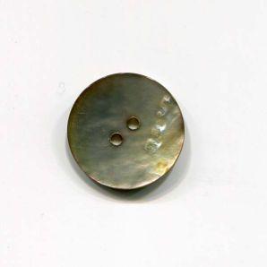 Perlmuttknopf 2-Loch Natur 23mm