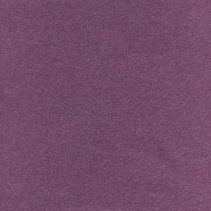 Baumwollfleece Melange - Beere