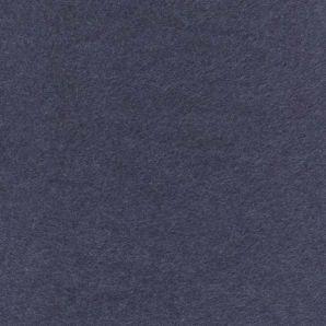 Baumwollfleece Melange - Jeansblau