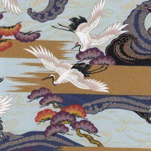 Flying Tsuru - Hellblau