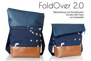 Tasche FoldOver 2.0 - eBook von Hansedelli