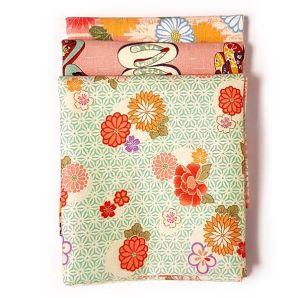 Fat Quarter Set - Kimono Flowers