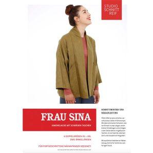 Studio Schnittreif - eBook Kimono Jacke Frau Sina