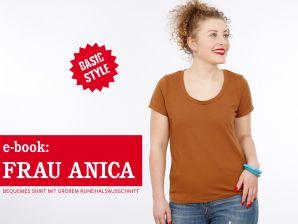 Studio Schnittreif - eBook Top Frau Anica