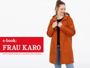 Studio Schnittreif - eBook Parka Frau Karo