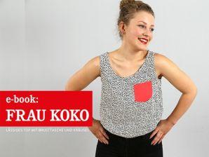 Studio Schnittreif - eBook Top Frau Koko