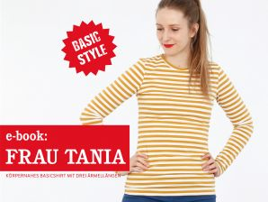 Studio Schnittreif - eBook Shirt Frau Tania