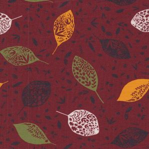French Terry Autumn Leaf - Rostrot