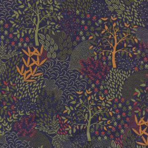 French Terry Autumn Trees