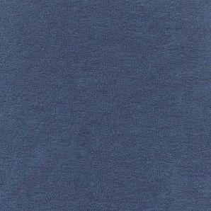 Frottee elastisch - Mittelblau