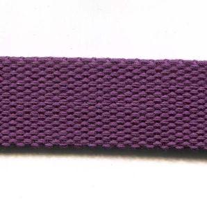 Gurtband uni 24mm - Violett