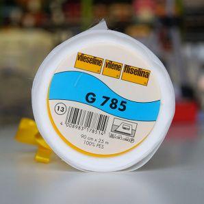 Gewebeeinlage G785 Querelastisch - Weiß