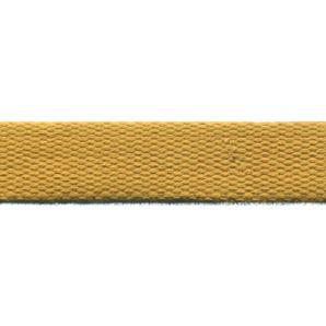 Reststück Baumwoll Gurtband uni 24mm - senfgelb