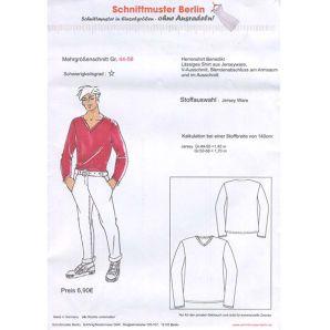 Schnittmuster Berlin - Herrenshirt Benedikt