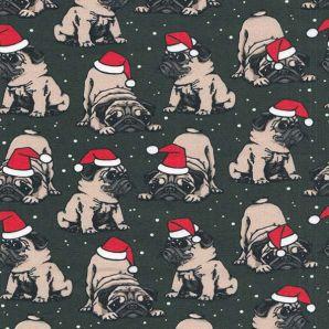 Jersey Christmas Pug