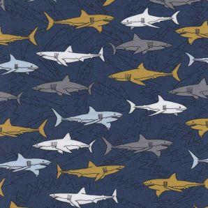 Bio Jersey Electric Shark - Blau