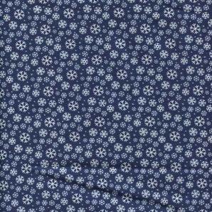 Jolly Season Snowflakes - Midnight