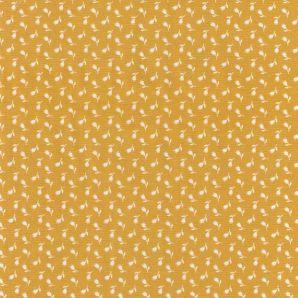 Popeline kleine Tulpen - Gelb