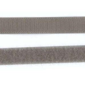 Klettband 20mm - Grau