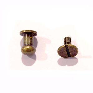 Beil Taschenknopf - Bronze