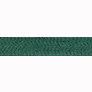 Köperband 20mm - Grün