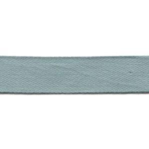 Köperband 25mm - Taubenblau