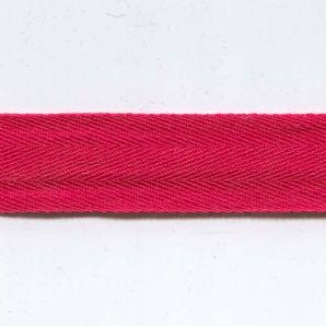 Köperband fein 20mm - Rot