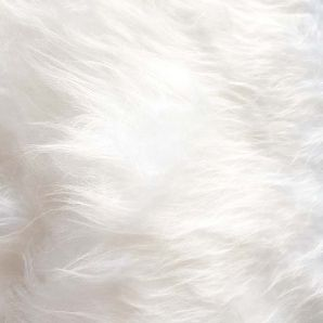 Kunstfell - Weiß