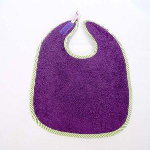 Frottee Lätzchen - Violett