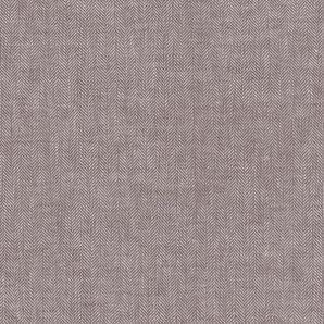 Leinen Baumwolle Fischgrät - Braun
