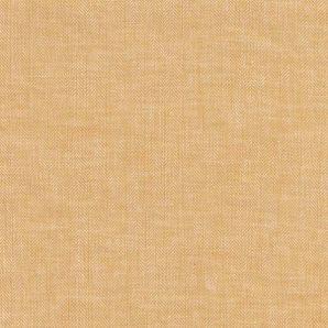 Leinen Baumwolle Fischgrät - Gelb
