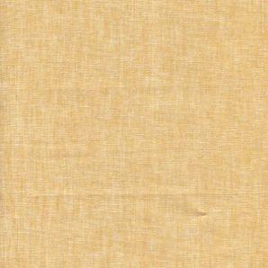 Leinen Baumwolle Uni - Gelb