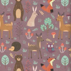 Liebe Waldtiere - Mauve