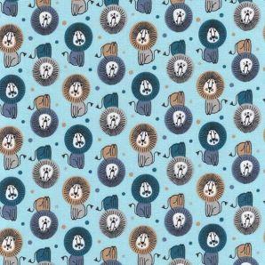 Lion Dots - Hellblau