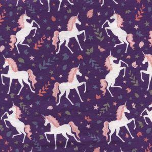 Jersey Majestic Unicorn - Violett